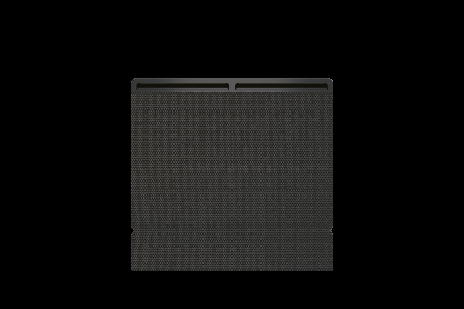 Panneau rayonnant Airelec Balma Horizontale - Gris d'une puissance de 1000 W
