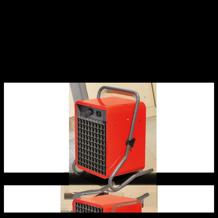 Chauffage industriel et tertiaire Airelec Ventair 4  d'une puissance de 15000/10000 W
