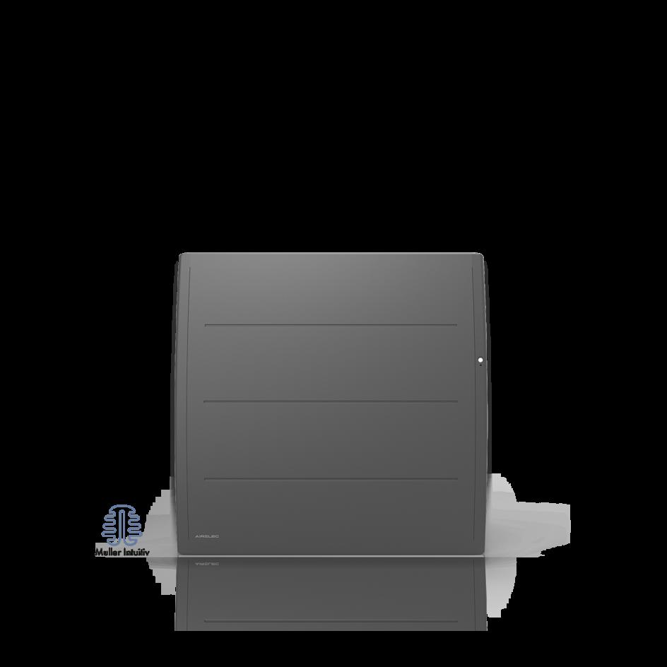 Radiateur électrique Airelec Adéos Horizontal - Anthracite d'une puissance de 1250 W