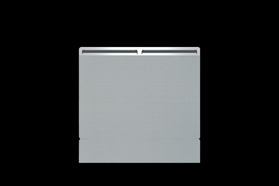 Panneau rayonnant Airelec Balma Horizontale - blanc d'une puissance de 1000 W