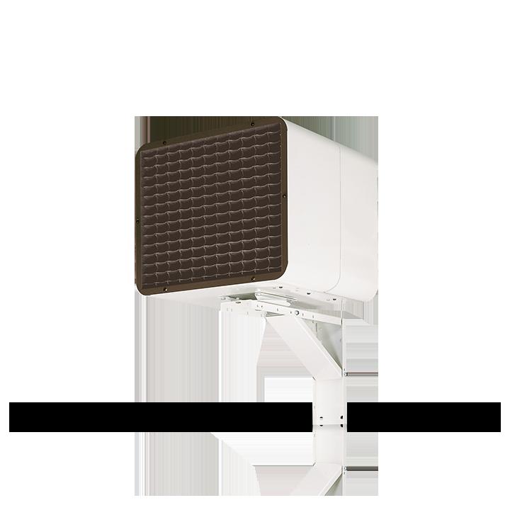 Chauffage industriel et tertiaire Airelec Airpuls 4 Fixation murale comprise d'une puissance de 6000/4000 W