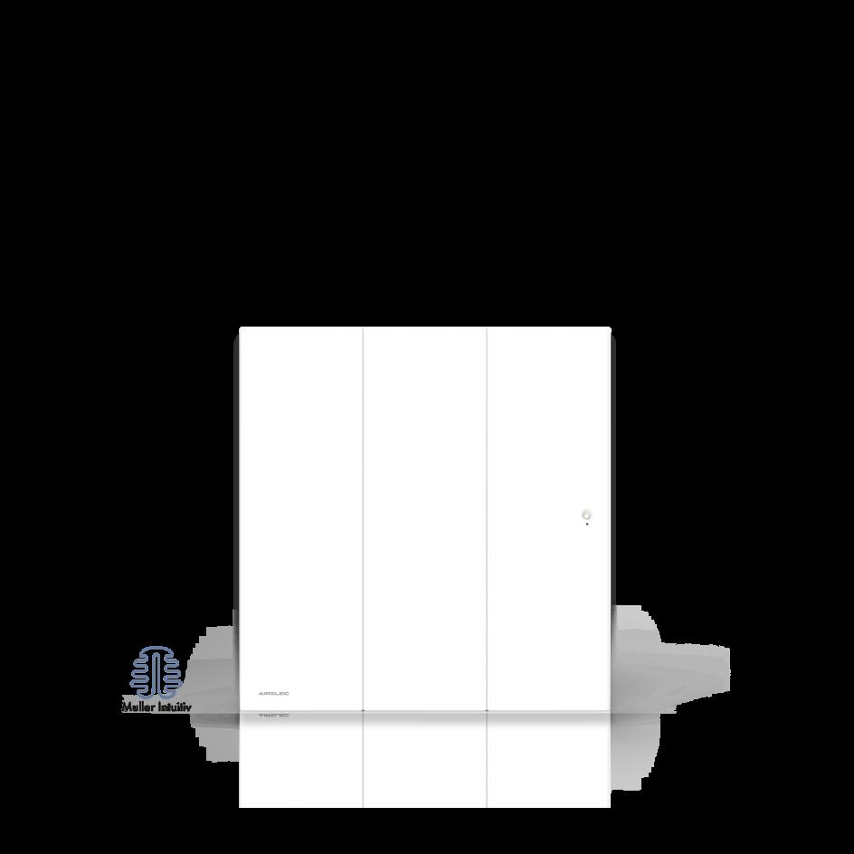 Radiateur électrique Airelec Ozéo Vertical - Blanc d'une puissance de 1500 W