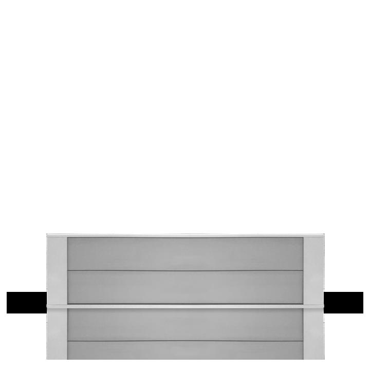 Chauffage industriel et tertiaire Airelec Dybox 2  d'une puissance de 1250 W