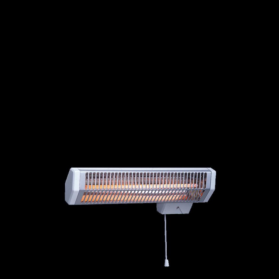 Chauffage de salle de bains Airelec Solaris Avec minuterie 15 min. d'une puissance de 1200 W