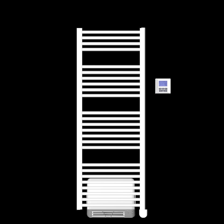 Chauffage de salle de bains Airelec Bahia 3 Eole Tubes ronds d'une puissance de 1500 W