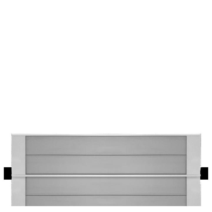 Chauffage industriel et tertiaire Airelec Dybox 2  d'une puissance de 1750 W