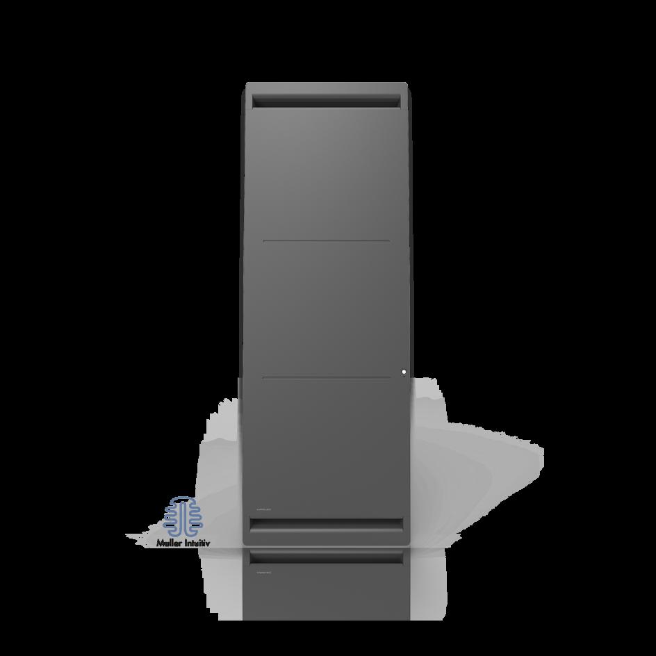 Radiateur électrique Airelec Airévo Vertical - Anthracite d'une puissance de 1000 W