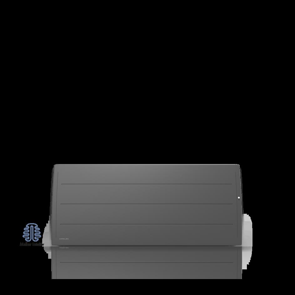 Radiateur électrique Airelec Adéos Bas - Anthracite d'une puissance de 1000 W