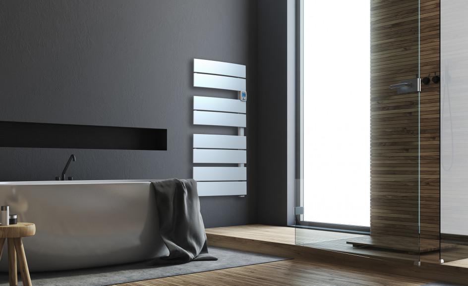 Chauffage de salle de bains Airelec Mooréa Largeur 55 cm d'une puissance de 750 W