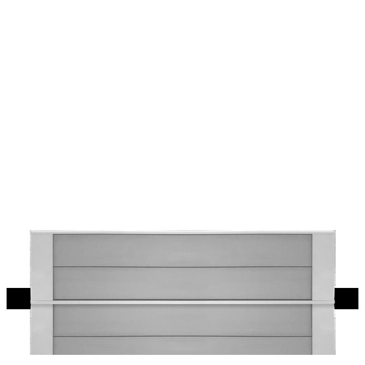 Chauffage industriel et tertiaire Airelec Dybox 2  d'une puissance de 1500 W