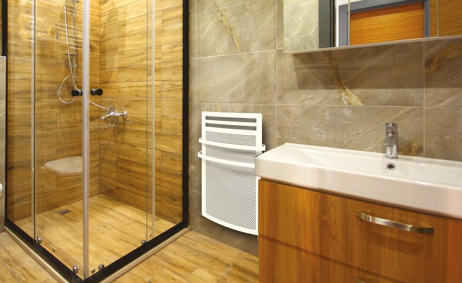 Chauffage de salle de bains Airelec Aixance bains  d'une puissance de 1500 W