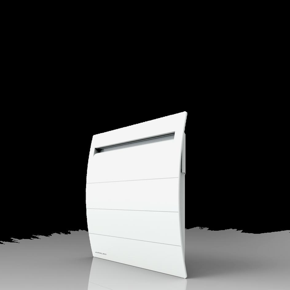 Radiateur Airelec Novéo 2 DP Horizontal - Blanc d'une puissance de 1250 W