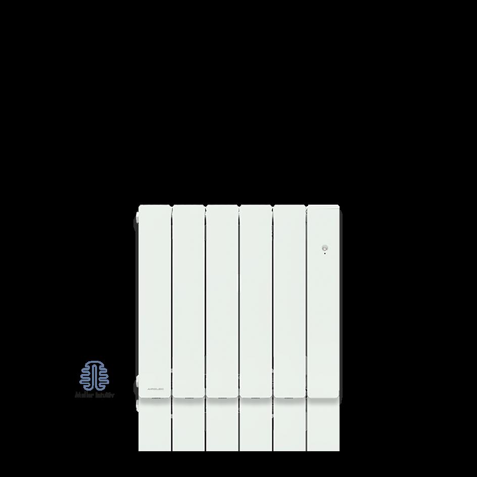 Radiateur électrique Airelec Irid Intégral Horizontal - Blanc d'une puissance de 1000 W