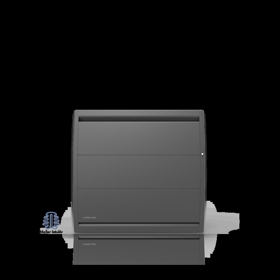 Radiateur électrique Airelec Airévo Horizontal - Anthracite d'une puissance de 1000 W