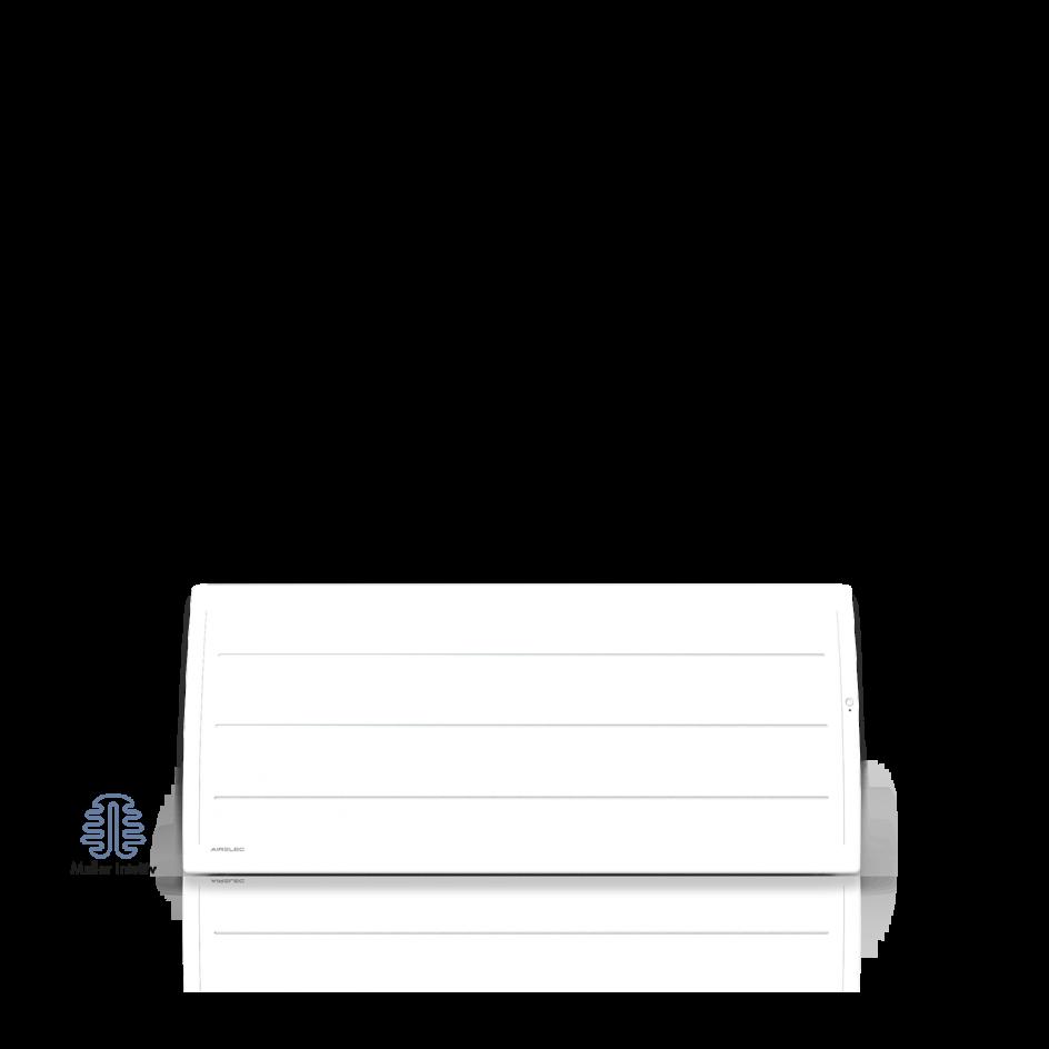 Radiateur électrique Airelec Adéos Bas - Blanc d'une puissance de 750 W