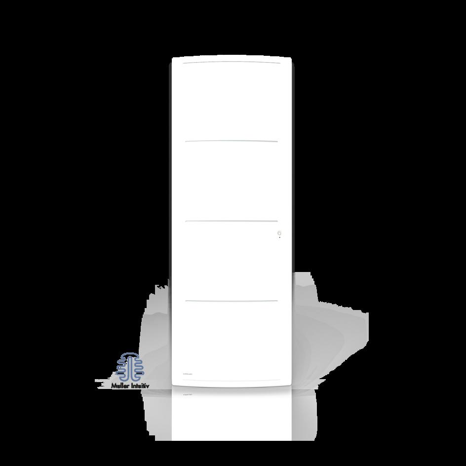 Radiateur électrique Airelec Adéos Vertical - Blanc d'une puissance de 1000 W