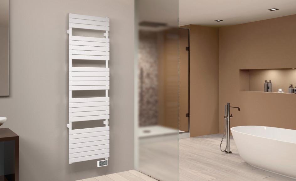 Chauffage de salle de bains Airelec Nantua 3 Barres plates d'une puissance de 500 W