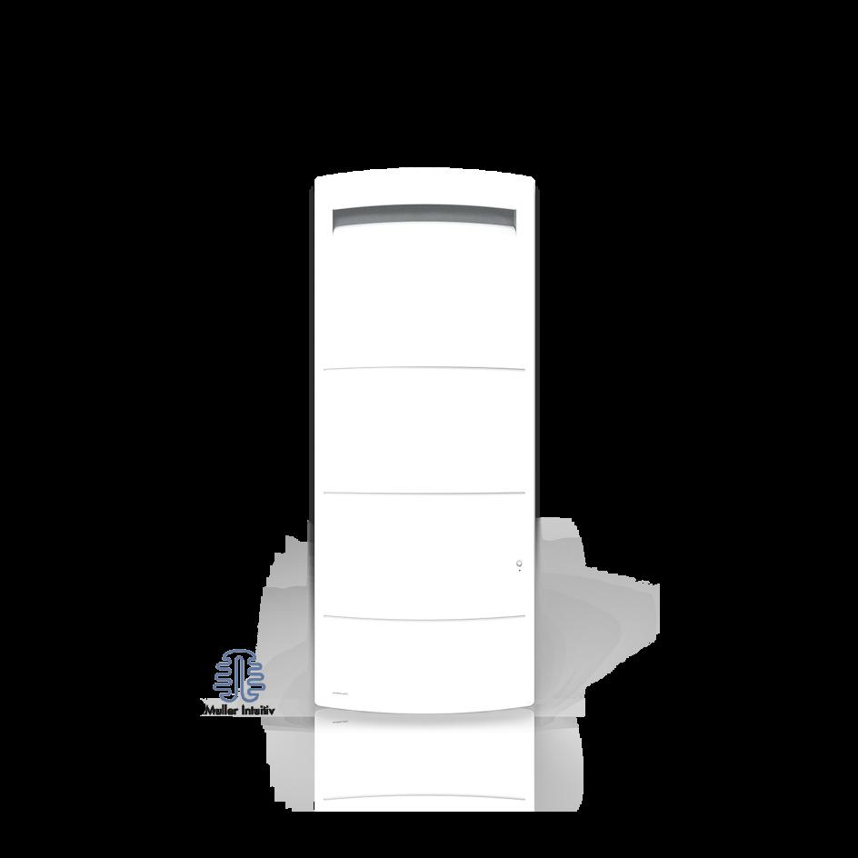 Radiateur électrique Airelec Novéo 2 Vertical - Blanc d'une puissance de 1000 W